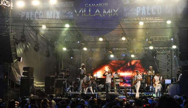 Camarote Villa Mix tem shows diariamente - Foto: Patrick Silva | Divulgação