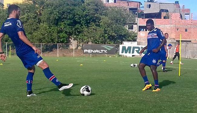 Volante Feijão (D), poupado do jogo em Ceará-Mirim, retorna aos titulares - Foto: Reprodução l Twitter