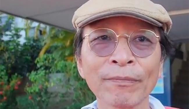 Takemoto foi preso quando chegava em sua casa, após o protesto - Foto: Reprodução | YouTube