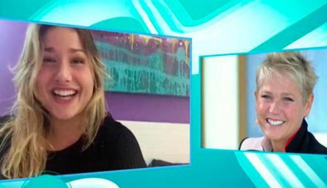 Sasha não poupou elogios para falar de Xuxa - Foto: Reprodução | TV Record
