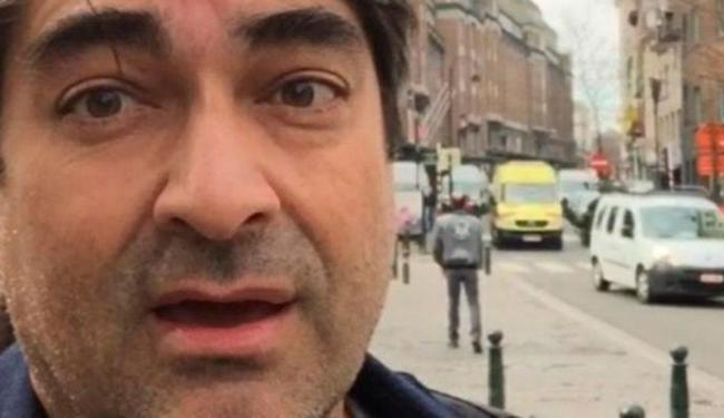 O apresentador estava viajando pela Europa, quando foi surpreendido pelos ataques - Foto: Reprodução | Instagram