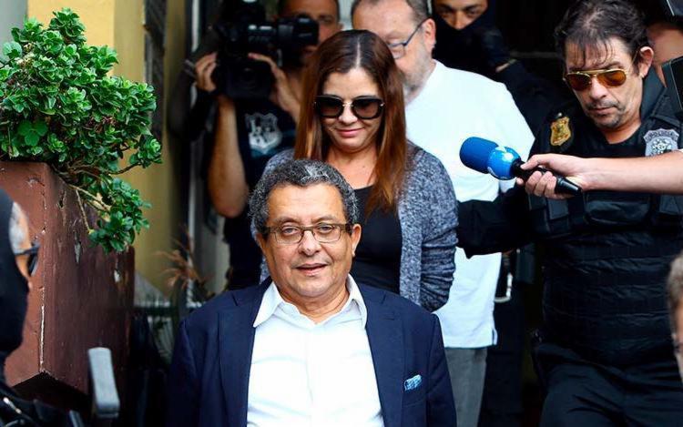 A dupla foi condenada pelos crimes de lavagem de dinheiro no esquema de corrupção - Foto: Rodolfo Buhrer   Agência Reuters