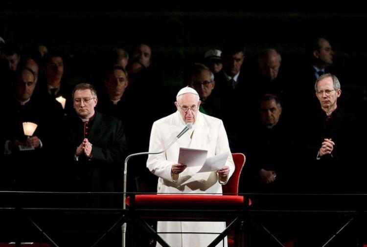 O Papa garantiu seu apoio a