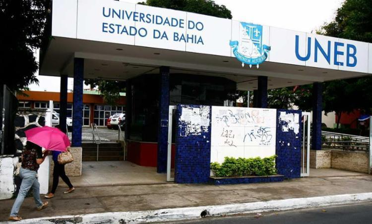 Estudantes alegaram que ocupam apenas a Reitoria da Uneb - Foto: Joa Souza | Ag. A TARDE