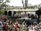 Público lota Dique do Tororó para ver o Alavontê - Foto: