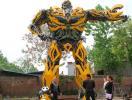 Chinês cria réplica de robô Transformer de 12,5 metros - Foto: Agência Reuters