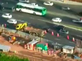 Caminhão apresentou defeito por volta das 5h desta quarta - Foto: Reprodução | TV Bahia