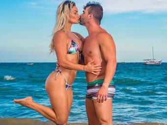 Laura Keller e o marido Jorge Souza - Foto: Reprodução | Instagram