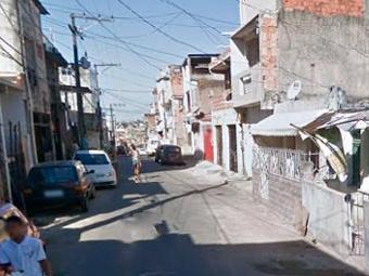 Crime aconteceu na Liberdade, após a dupla de amigos voltar de um evento na Ribeira - Foto: Reprodução | Google Street View