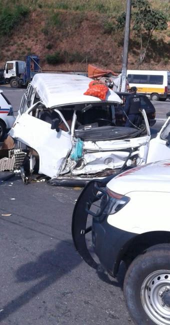 As causas do acidente estão sendo investigadas - Foto: Cidadão Repórter