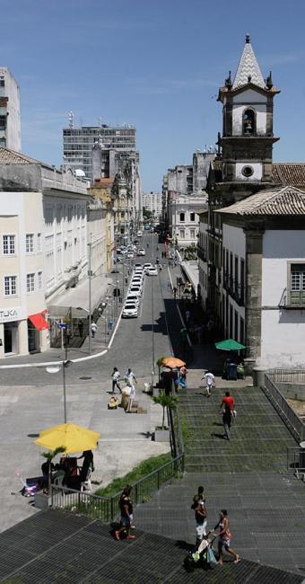 Rua Chile e mais seis da área passarão por obras - Foto: Edilson Lima l Ag. A TARDE
