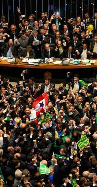 Votação na Câmara dos Deputados - Foto: André Dusek   Estão Conteúdo