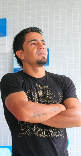 O jogador criticou os dirigentes do Bahia por não dar espaço a jogadores estrangeiros - Foto: Luciano da Matta | Ag. A TARDE