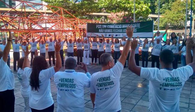 Grupo pede fortalecimento do comércio para evitar falência e demissões - Foto: Joyce de Sousa | Ag. A TARDE