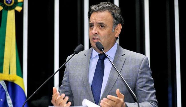 Aécio ficou em segundo lugar nas eleições e o PT questiona contas - Foto: Agência Senado