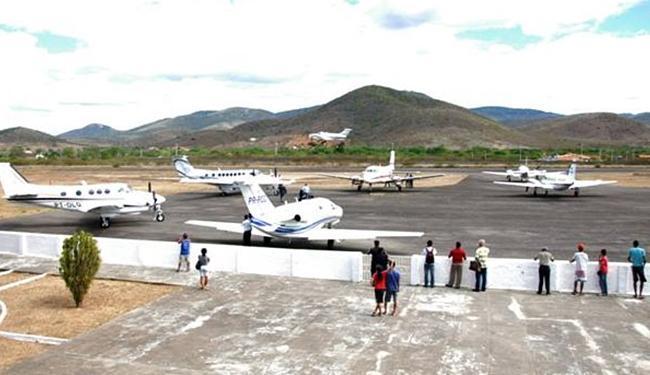 Terminal Vicente Grillo voltará a receber voos após passar por obras de recuperação - Foto: Reprodução l Facebook l 28.8.2015