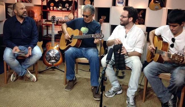 Alexandre Leão, Álvaro Assmar, Diego Orrico e Eric Asmar falam do blues e da cena local: dia 22 - Foto: TVE | Irdeb | Divulgação
