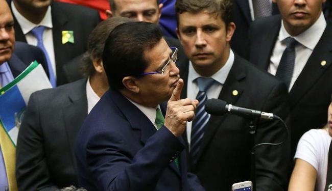 O deputado anunciou sua renúncia no momento do voto - Foto: Marcelo Camargo | Ag. Brasil