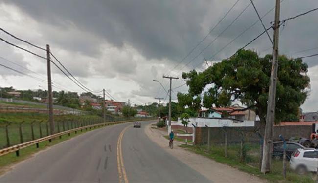 O crime aconteceu na BA-523 - Foto: Reprodução   Google Maps
