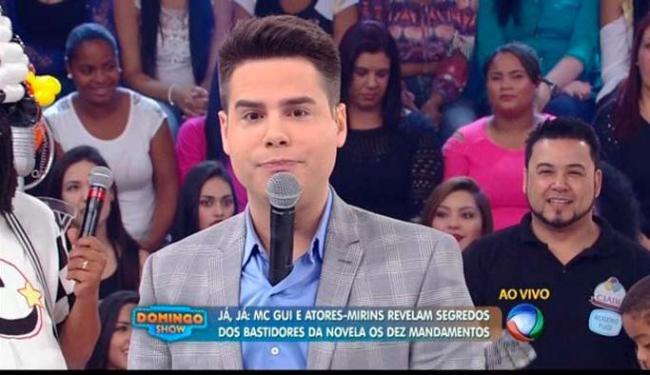Luiz Bacci foi bem no comando do programa e elevou a audiência - Foto: Divulgação