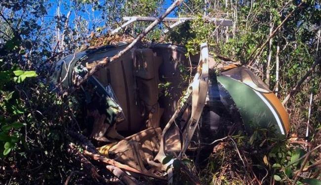Aeronave , modelo Esquilo, caiu no dia 21 de março - Foto: Reprodução