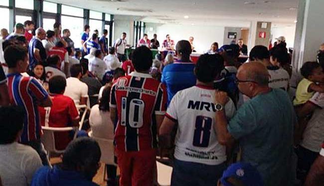 Votação aconteceu na Arena Fonte Nova - Foto: Reprodução | Twitter