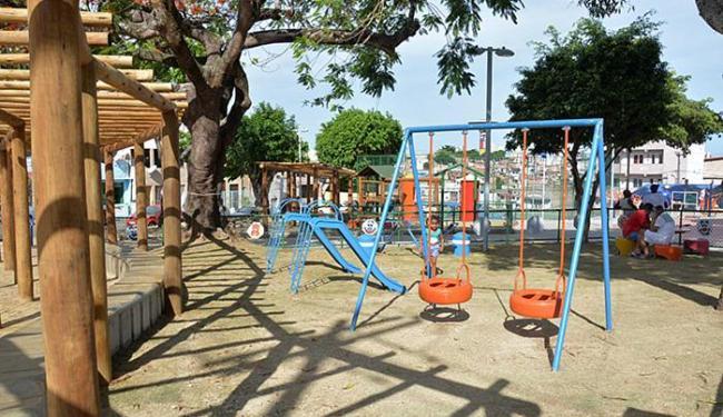 A praça Marquês de Olinda tem 2.907 m² de área útil - Foto: Jefferson Peixoto l Agecom
