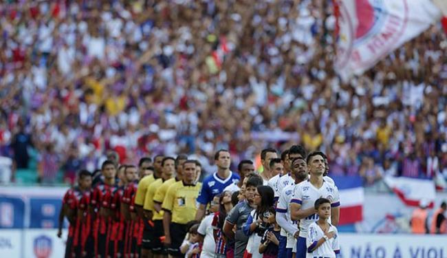 'Caso VR3' dá motivação extra a Leão; Tricolor tempera jogo com contratação de meia ex-Vitória - Foto: Raul Spinassé | Ag. A TARDE
