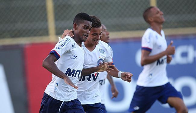 O único gol do clássico foi marcado por Wesley - Foto: Lúcio Távora | Ag. A TARDE