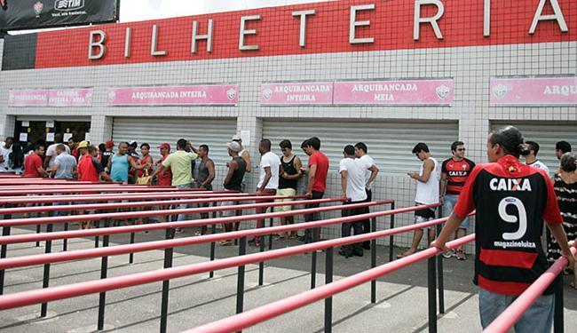 Primeiro do clássico da final do Baianão será disputado no estádio Barradão - Foto: Edilson Lima | Ag. A TARDE
