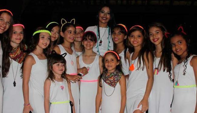 Blogueiras mirins estão reunidas em evento no Catussaba Resort - Foto: Dayse Faleta   Divulgação