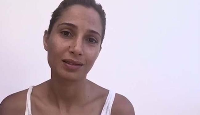 Camila Pitanga é uma das artistas que aparece no vídeo - Foto: Reprodução