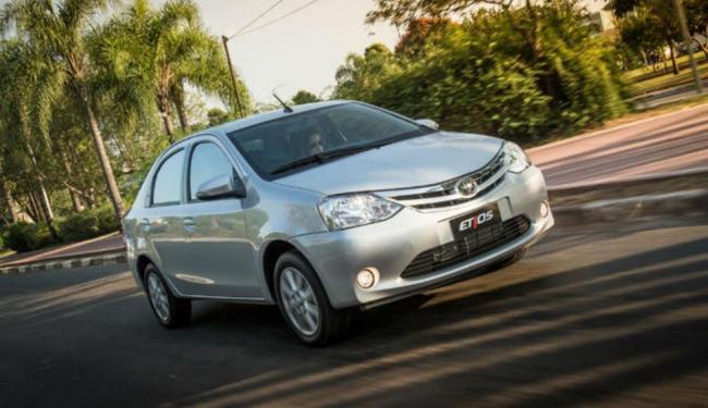 A Toyota apresentou o Etios 2017 - Foto: Divulgação