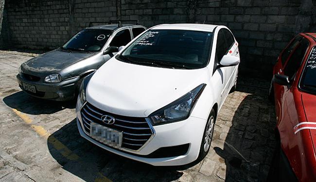 O Hyundai HB20 sedã, recolhido no Dique do Tororó, foi um dos veículos liberados no final de semana - Foto: Luciano da Matta l Ag. A TARDE