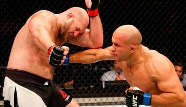 Cigano apostou em golpes importantes para garantir vitória por pontos - Foto: Divulgação   UFC