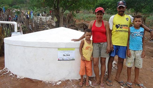 Reservatórios beneficiaram 1.718 famílias de 5 municípios - Foto: Secom Gov-BA l Divulgação