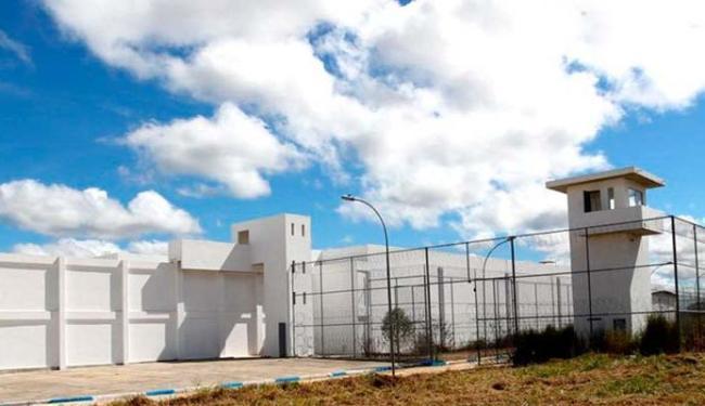 Conjunto Penal de Eunápolis, onde os presos fugiram - Foto: Divulgação   Seap