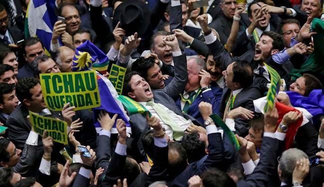 Deputados durante votação na Câmara dos Deputados - Foto: Agência Reuters