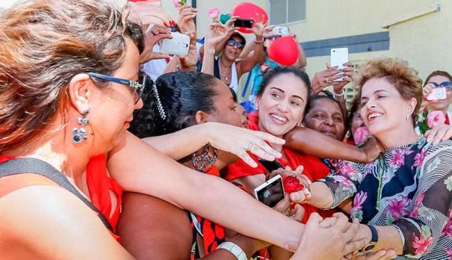 Dilma foi