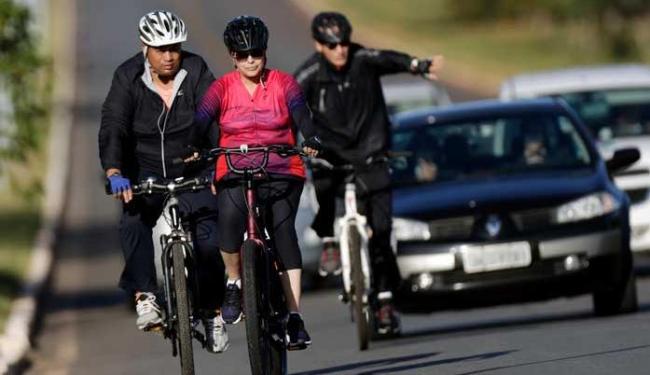 Presidente saiu do Alvorada às 7h40 e encurtou o trajeto que costuma fazer - Foto: Agência Reuters