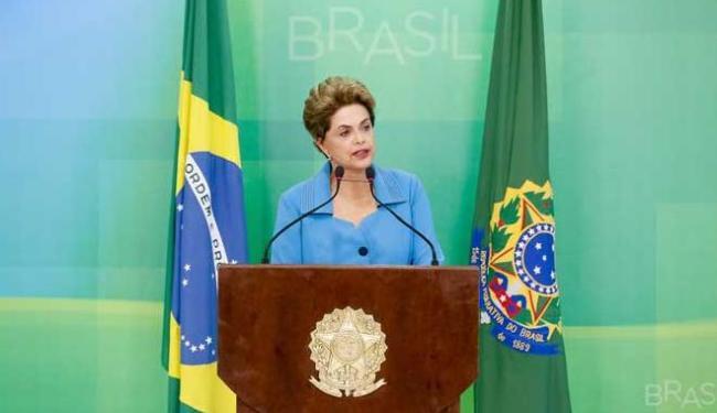 Dilma falou com repórteres nesta segunda-feira, 18, sobre decisão da câmara - Foto: Roberto Stuckert Filho/PR