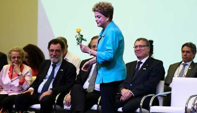 A presidente Dilma na abertura da 12ª Conferência Nacional de Direitos Humanos - Foto: Valter Campanato/Agência Brasil