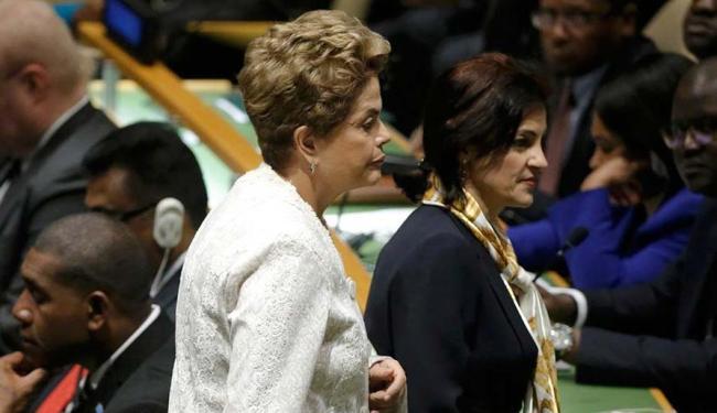 Dilma Rousseff durante evento na ONU, em Nova Iorque, nesta sexta-feira - Foto: Agência Reuters