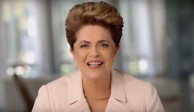 Pronunciamento da presidente foi divulgado no canal do Youtube do PT - Foto: Reprodução