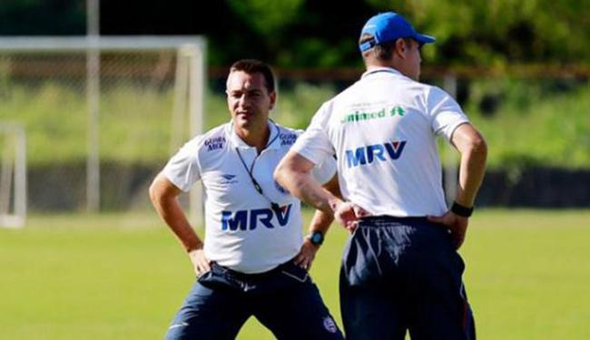 Doriva deve confirmar nesta terça-feira, 19, o time titular que vai enfrentar o Flu de Feira, na Fon - Foto: Felipe Oliveira l EC Bahia