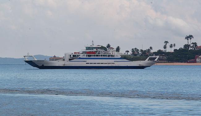 Movimento no ferry é tranquilo, segundo a Intencional Travessias - Foto: Edilson Lima   Ag. A TARDE