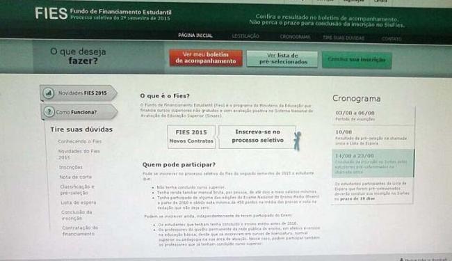 Entre as novas regras estão a flexibilização da oferta de cursos prioritários - Foto: Iloma Sales   Ag. A TARDE