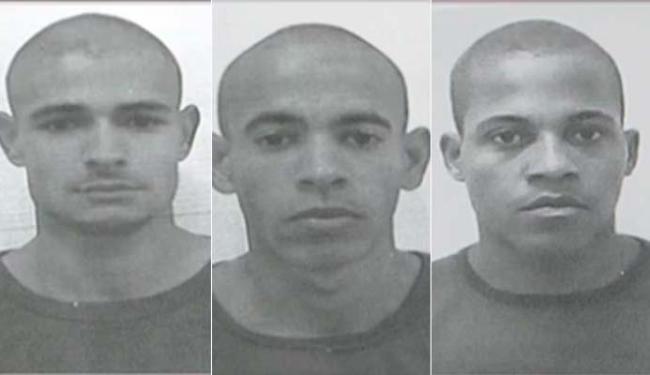 André Ferreira da Silva Santos, Isangelo de Jesus Santos e Valdivan Mendes de Jesus foram mortos - Foto: Polícia Militar | Divulgação