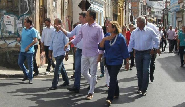 A previsão é requalificar 267 ruas, através do Projeto Pelas Ruas do Centro Antigo de Salvador - Foto: Manu Dias | GOVBA