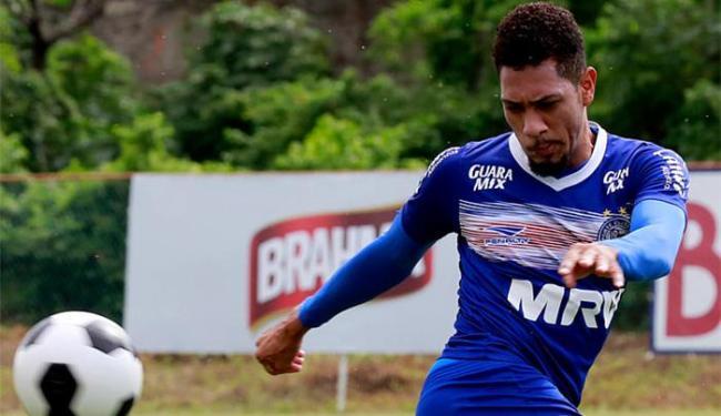 Atacante sofreu a lesão no jogo do último domingo, 17, contra o Santa Cruz - Foto: Felipe Oliveira l Divulgação